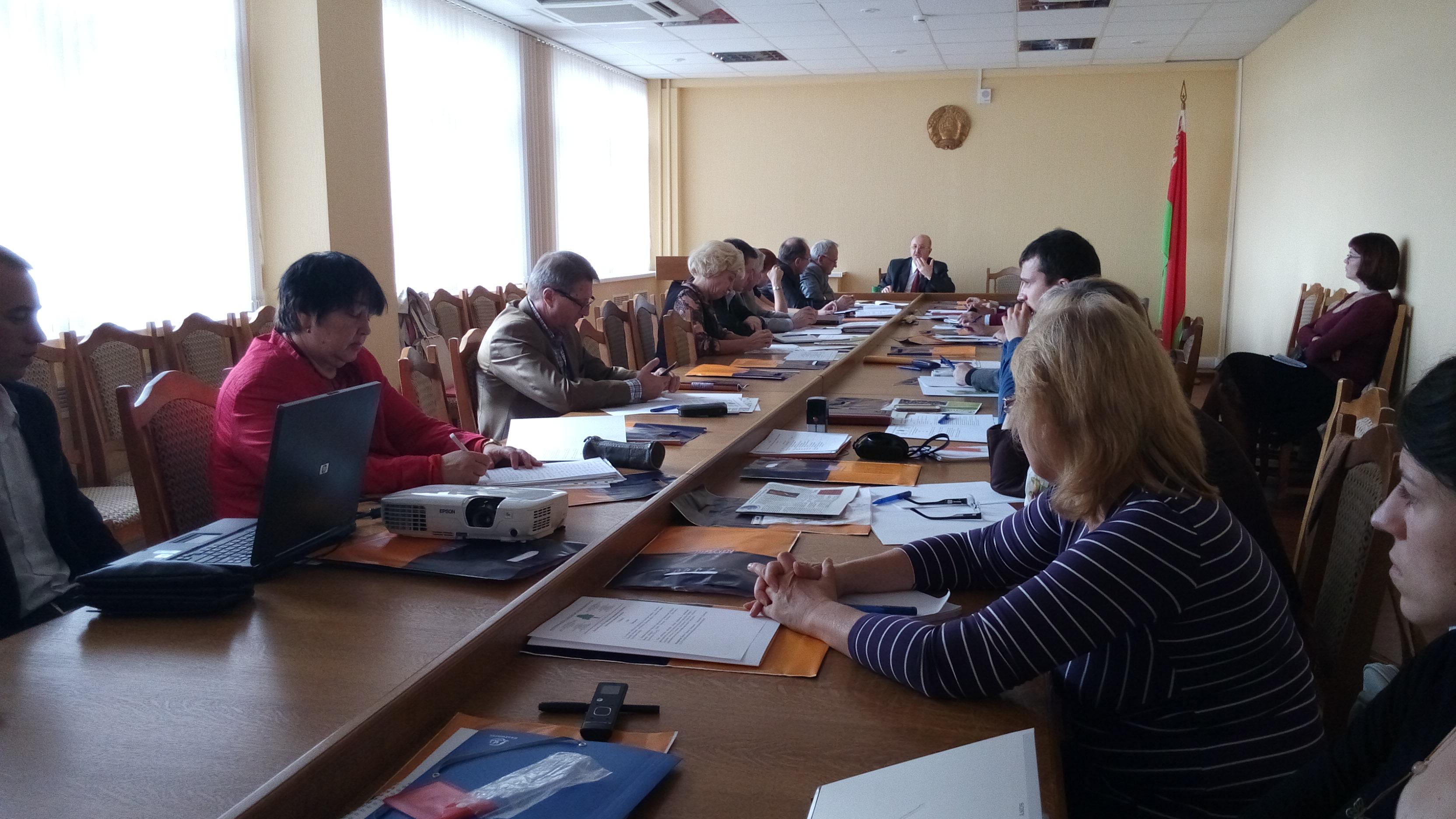 У Мінску абмеркавалі праблемы развіцця сацыяльнага партнёрства