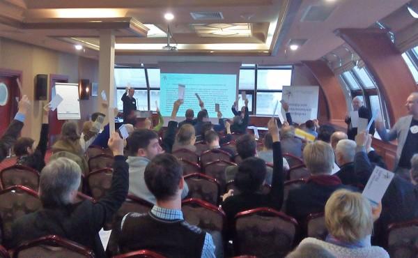 У Мінску адбылася канферэнцыя Нацыянальнай платформы. Старшынёй Каардынацыйнага камітэту пераабралі Святлану Каралёву
