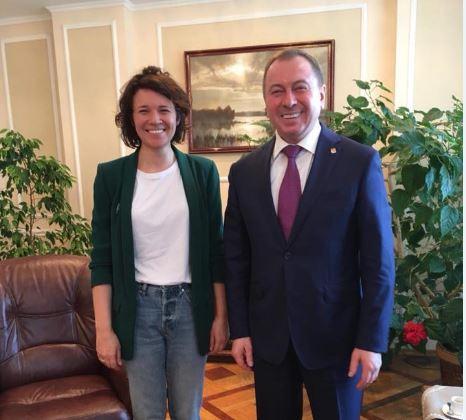 Будет ли в Беларуси закон о домашнем насилии? Марина Корж о встрече с министром МИД: Для меня самым важным было то, чтобы МИД был в курсе ситуации. И я была услышана».