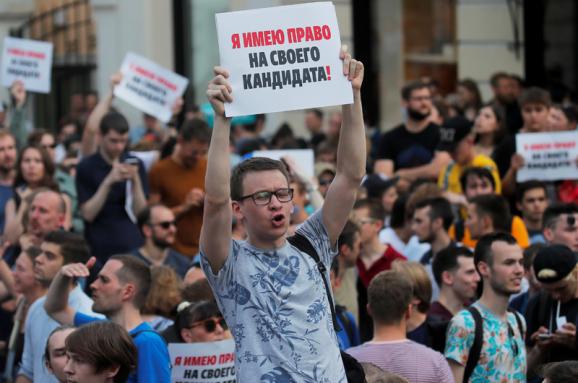 Заявление Координационного комитета БНП ФГО ВП в связи с нарушением московскими властями прав граждан на проведение мирных собраний и выражение мнения.